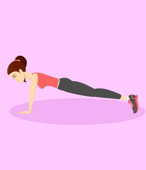 16.Plank Pose